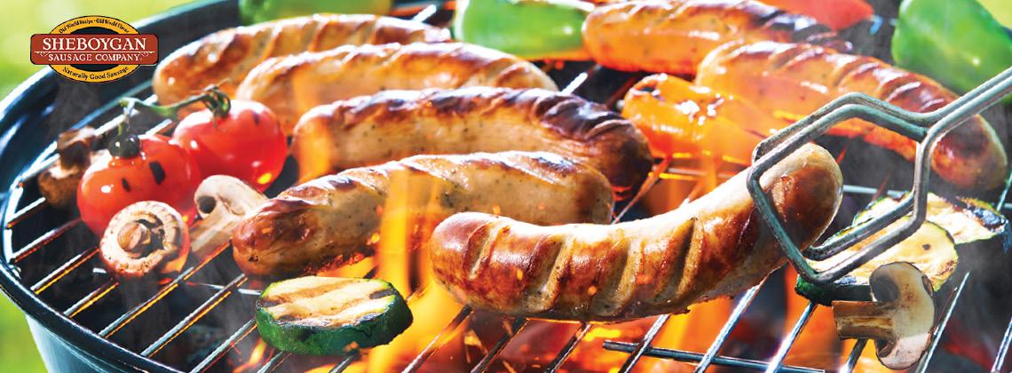 2.5 LB. Sheboygan Fresh Bratwurst