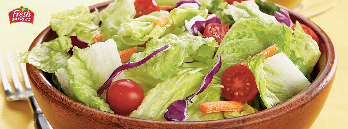 6-11 oz. Fresh Express Spinach, Premium Romaine or Green & Crisp Salad