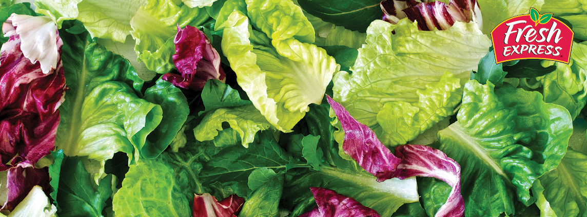 5-11 oz. Fresh Express Leafy Green Romaine, Baby Spinach or Other Salad Mixes