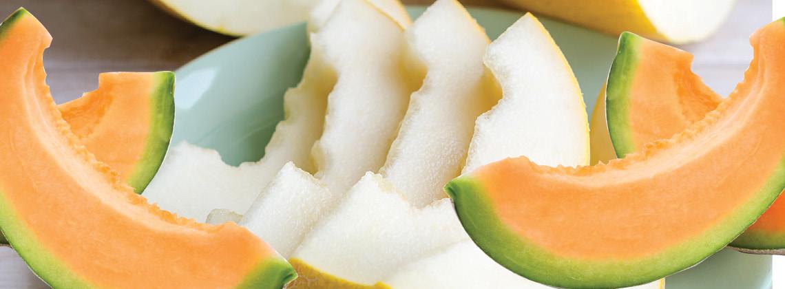Del Monte Cantaloupe or Honeydew Melon