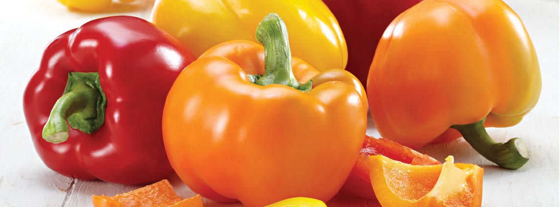 Extra Large Red, Yellow or Orange Peppers
