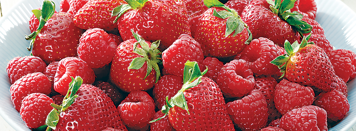 Driscoll's California Strawberries or 1/2 Pint Raspberries