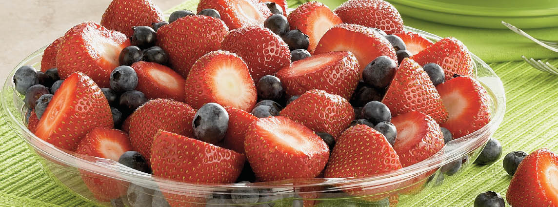1 Pint Fresh Strawberries or Blueberries